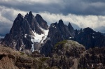 dolomites, storm, summit, rugged, peak, clouds, italy, 2011, photo
