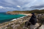 cala, torta, mallorca, spain, beach, sea, coast, selfie, ocean, Hunting the Light, photo