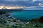 beach, bay, sea, coast, wind, sunset, mallorca, spain, 2011, Spain, photo