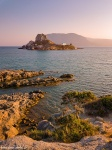 church, coast, beach, golden hour, island, kos, greece, 2018, Greece, photo