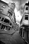 city, koethen, alone, perspective, allein, einsam, köthen, bnw, photo