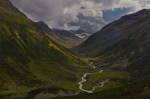mountain, stream, alpine, valley, pass, swiss, 2012, photo