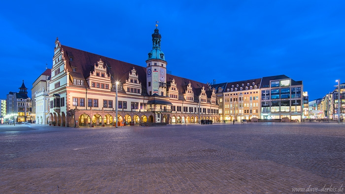 leipzig, sunset, blue hour, downtown, city, germany, 2016, photo
