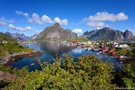 reine, summer, mountains, village, harbour, lofoten, arctic, norway, 2017, Norway, photo