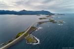 aerial, drone, coast, road, summer, from above, norway, 2019, Norway, photo
