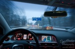 winter, snow, driving, roadshot, car, autobahn, photo