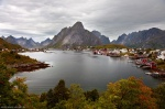 reine, autumn, lofoten, norway, mountain, rugged, 2013, photo