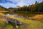 lake, reflection, autumn, fall, trees, view, bank, mountains, alpes, dolomites, italy, 2015, latest, Italy, photo