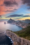 sunrise, cap, sea, coast, mountain, morning, mallorca, spain, 2011, photo