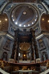 rome, church, sunray, interior, italy, Rome, photo