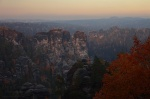 sunset, bastei, autumn, tree, germany, 2012, Autumn Season 2012, photo
