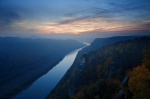 bastei, saxony, sunset, autumn, river, saxon, saxon switzerland, germany, 2012, Autumn Season 2012, photo