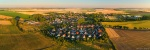 aerial, drone, brumby, sunset, golden hour, summer, from above, germany, 2019, Panoramas, photo