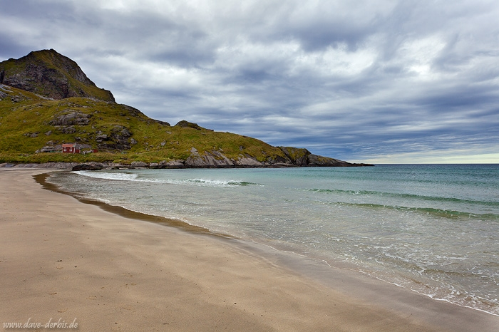 bunes, beach, lofoten, mountain, norway, rorbuer, photo