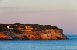sunset, cap, sea, cliff, coast, pastel, mallorca, spain, photo