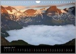 kalender, wand, deutsch, landschaft, photo