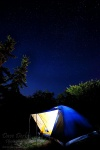 camping, tent, stars, night, photo