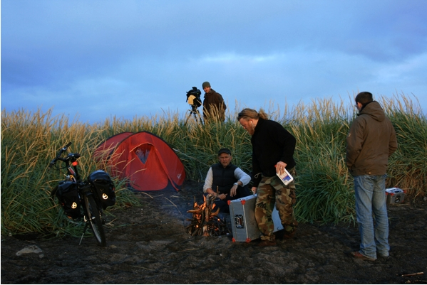 iceland, campfire, tour, canon, assignment, photo