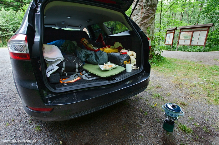 Car Camping Trunk :: Saxon Switzerland, Germany :: Dave ...