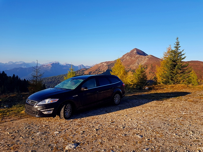 mountains, dolomites, sunrise, camping, car, alps, italy, 2018, photo