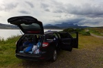 mountain, car, camping, coast, scotland, 2014, photo