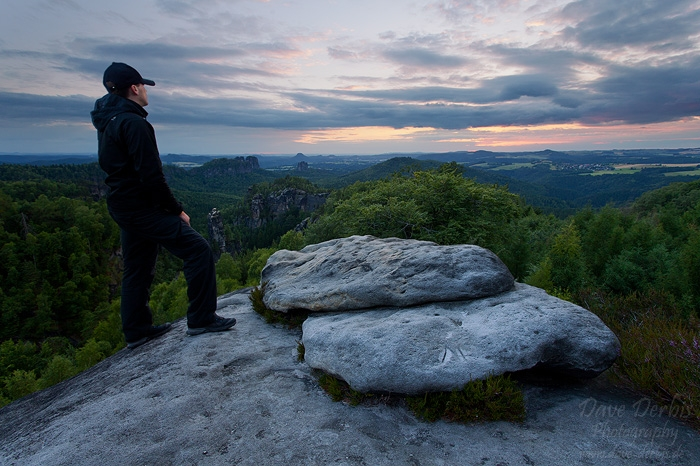 view, carolafelsen, saxon switzerland, nationalpark, selfie, germany, 2014, photo