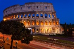 rome, blue hour, city, long exposure, italy, Rome, photo