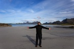 beach, arctic, ocean, mountain, portrait, lofoten, selfie, norway, 2013, photo