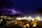 storm, lightning, mountain, night, davos, swiss, 2012, photo