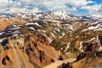 landmannalaugar, mountains, volcano, rhyolite, volcanic, iceland, 2017, photo