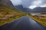 roadshot, mountain, rain, clouds, e10, lofoten, norway, 2013, photo