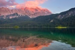 lake, reflection, islands, mountain, alps, bavaria, sunset, germany, 2018, photo
