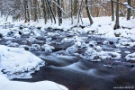 harz, winter, forest, stream, ice, snow, bode, valley, germany, 2015, latest, Best Landscape Photos of 2015, photo