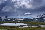 storm, mountains, light, jotunheimen, snow, glacier, fjellet, norway, 2018, photo