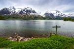lake, mountains, snow, glacier, spring, norway, 2015, photo
