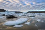 sunset, glacier, bay, ice, fjallsarlon, mountains, iceberg, iceland, 2016, Iceland, photo