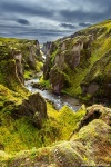 canyon, mountain, river, stream, rugged, fjaorargljufur, iceland, 2016, photo
