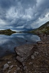 mountain, pass, lake, storm, reflection, mirror, cloud, swiss, 2012, Switzerland, photo