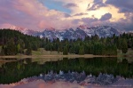 sunset, mountain, lake, alps, bavaria, snow, reflection, germany, Personal Favorites, photo