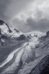 glacier, snow, hohe tauern, national park, alps, mountain, austria, grossglockner, bnw, Austria, photo