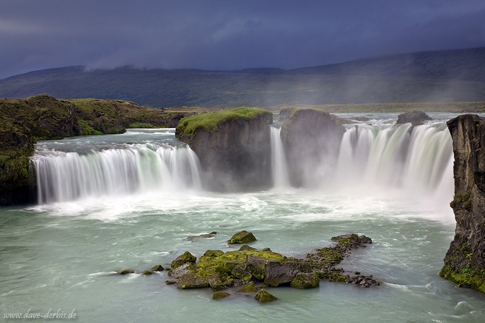 Wild Flow Godafoss Waterfall North Iceland Dave