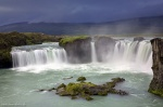 iceland, falls, godafoss, stream, remote, rare, striking, beauty, photo