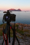 greetings, from, shooting, lofoten, norway, 2013, photo