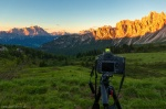 sunset, greetings from, mountains, alpenglow, dolomites, italy, 2016, Hunting the Light, photo