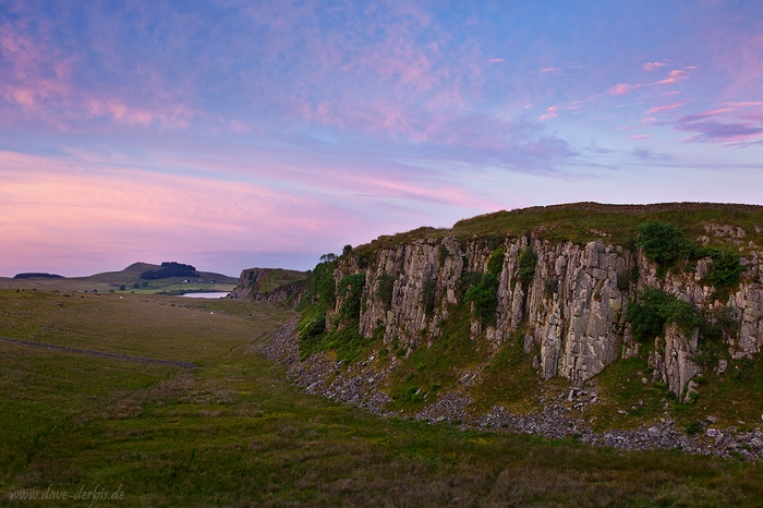 sunset, clouds, hadrians wall, summer, england, scotland, 2014, photo