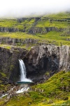 waterfall, falls, highlands, cascade, fog, rain, iceland, 2016, photo