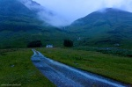 highlands, mountain, rain, waterfall, house, lonely, remote, scotland, 2014, photo