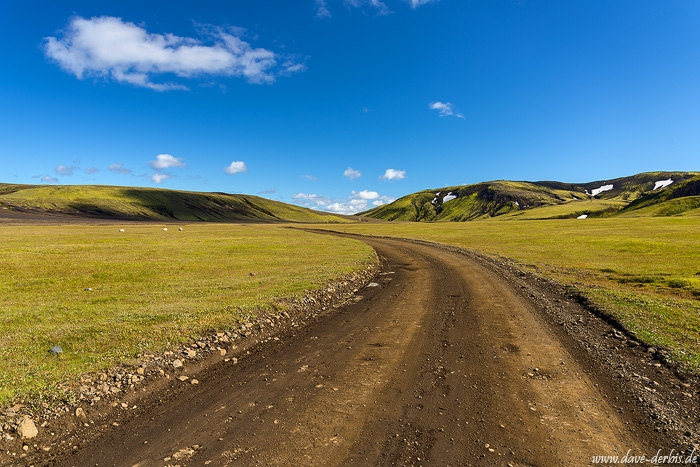 roadshot, dirt road, highlands, mountains, summer, volcanic, iceland, 2016, photo