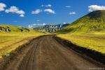 roadshot, dirt road, highlands, mountains, summer, volcanic, iceland, 2016, Iceland, photo
