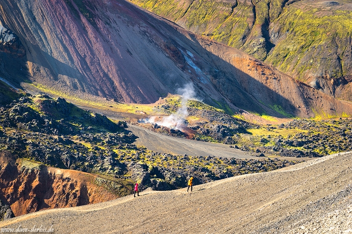 hiking, landmannalaugar, mountains, volcano, volcanic, iceland, 2016, photo